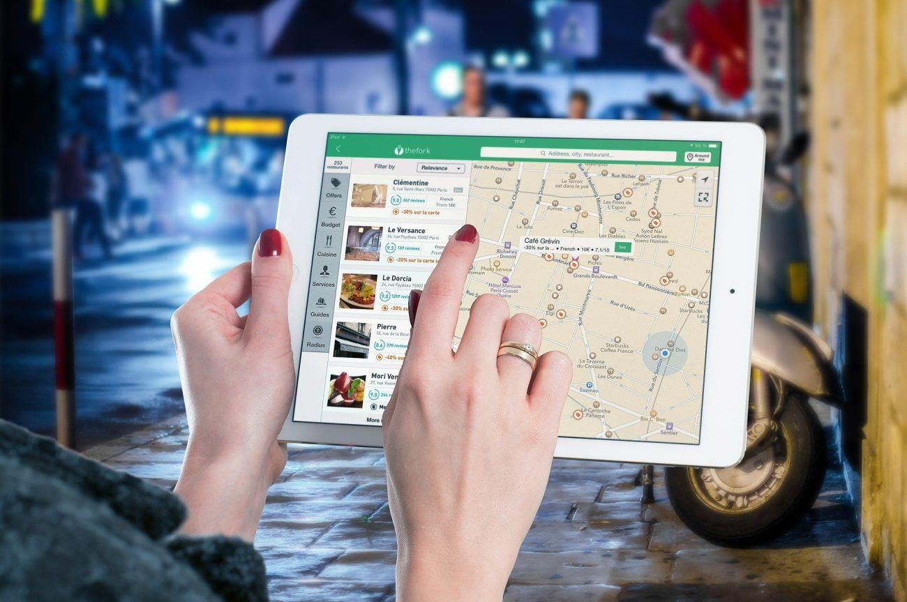 forme et présentation d une carte restaurant
